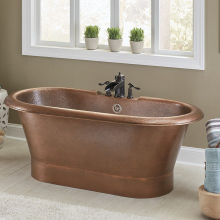 Copper Bathroom Sinks and Products by Sinkology