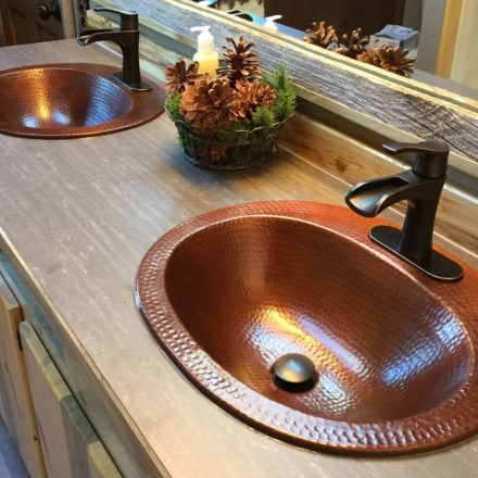 drop in bathroom sink