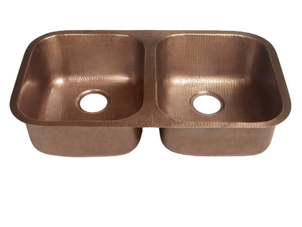 kandinsky undermount 16-gauge copper kitchen sink