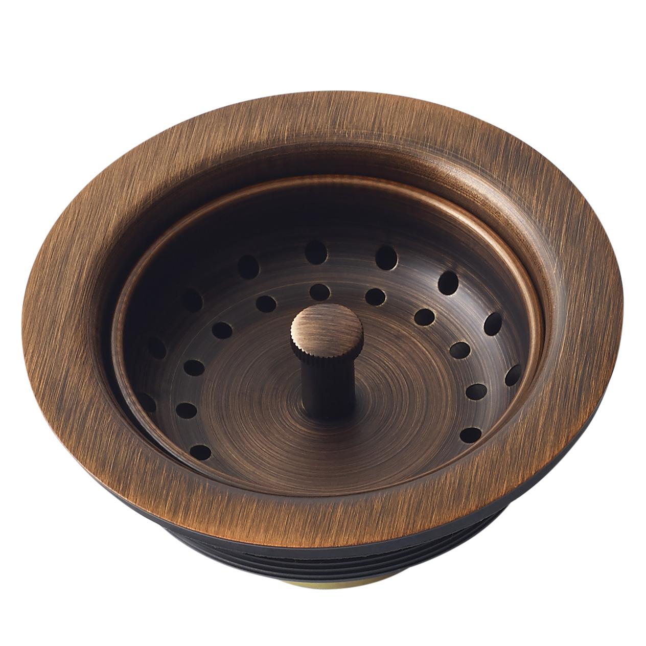 Picture of: Standard Kitchen Sink Basket Strainer Drain By Sinkology
