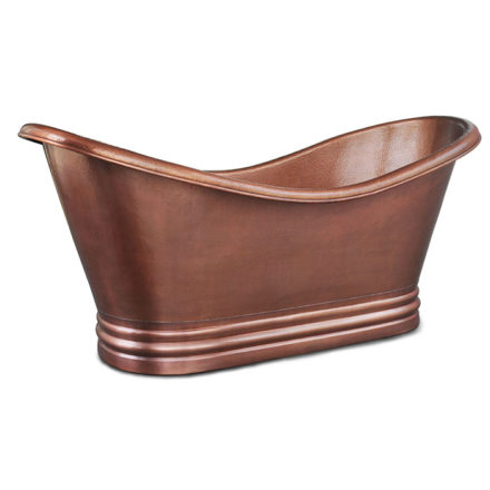 euclid copper bathtub