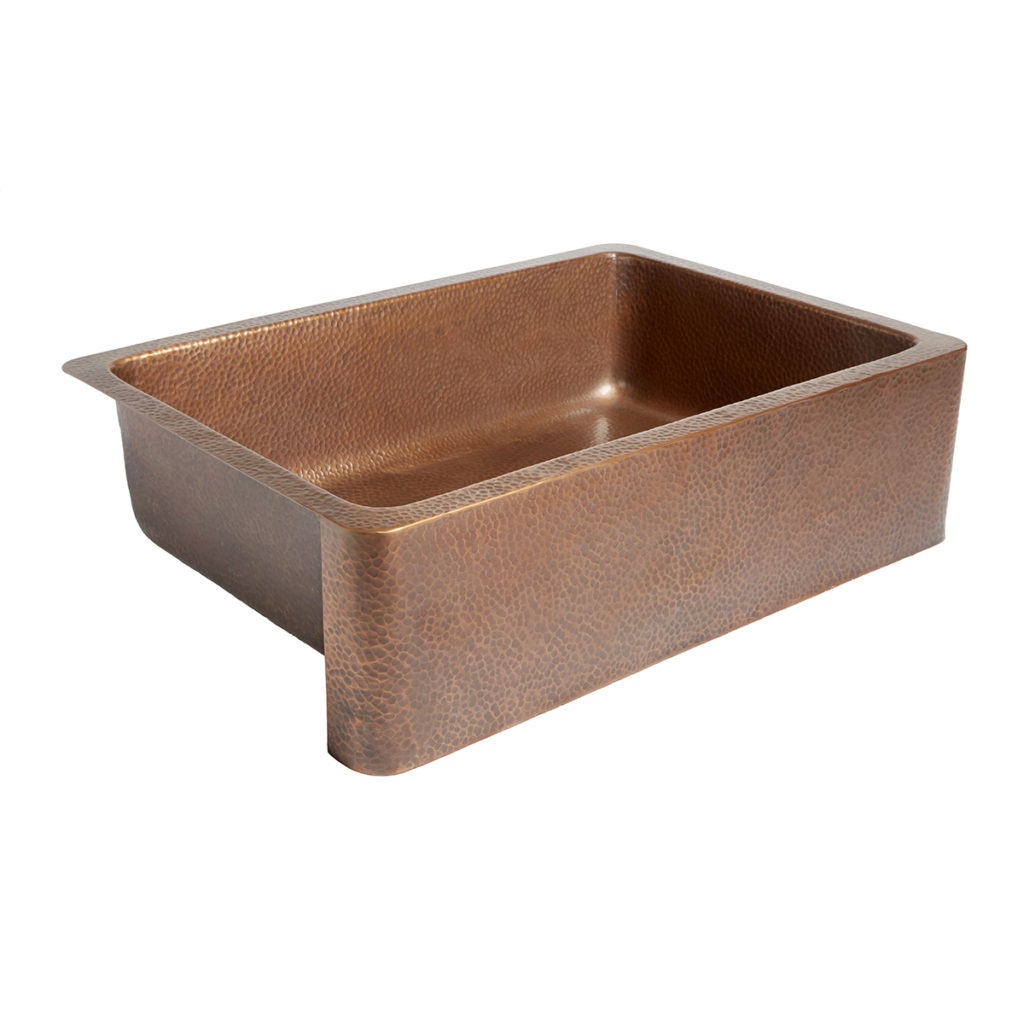 Adams Copper Farmhouse Kitchen Sink by Sinkology