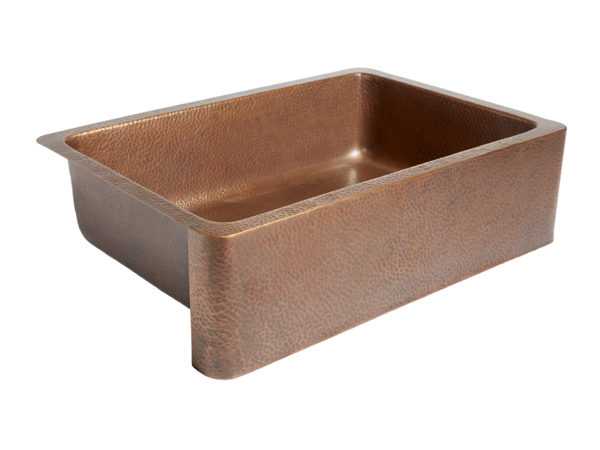 Adams Farmhouse Apron Copper Sink