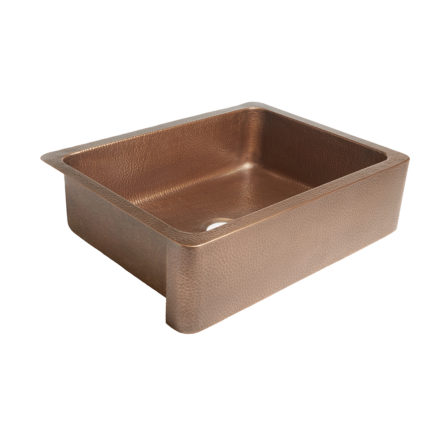 Courbet Farmhouse Kitchen Copper Sink