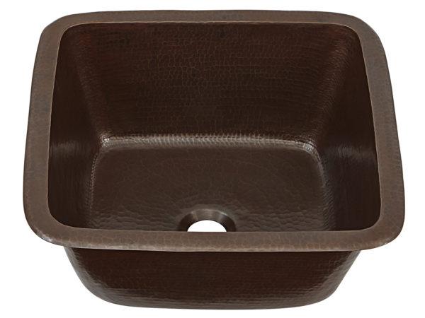 Greco bar and prep copper sink