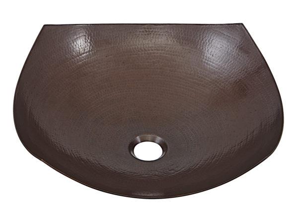 lovelace copper vessel bathroom sink
