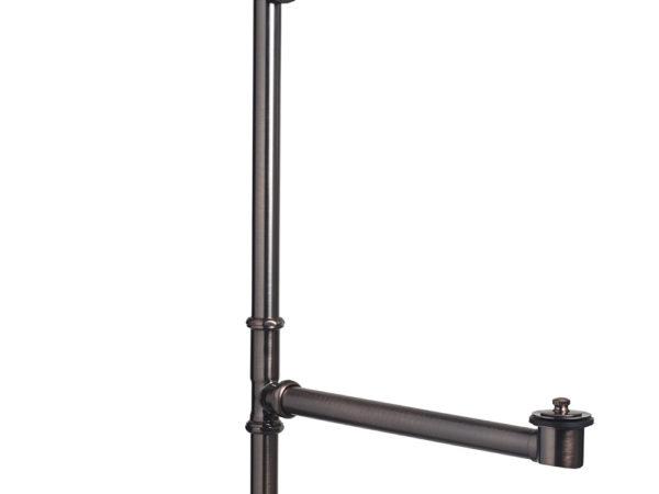 bronze bathtub drain and overflow kit