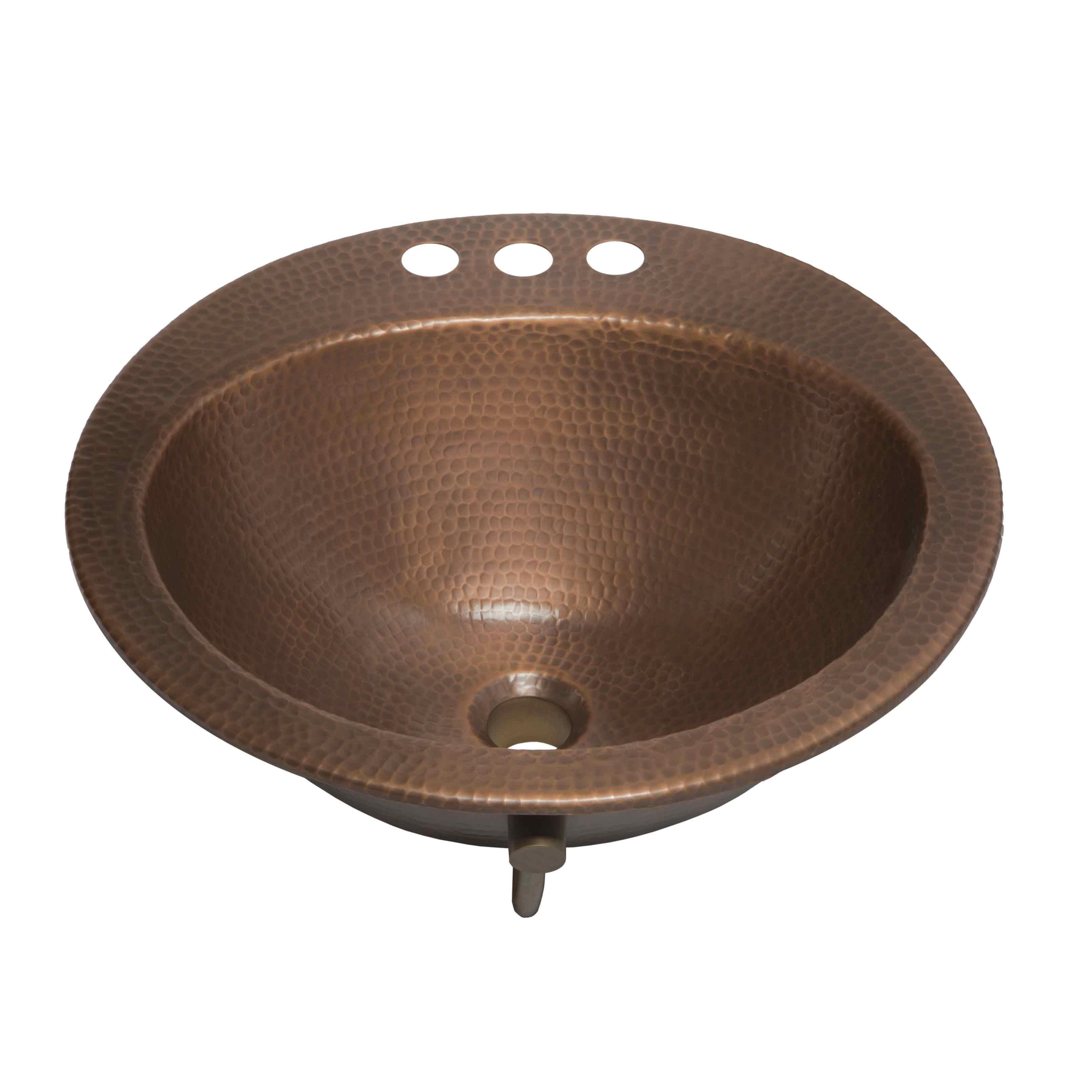 Bell Copper Bathroom Sink Sinkology