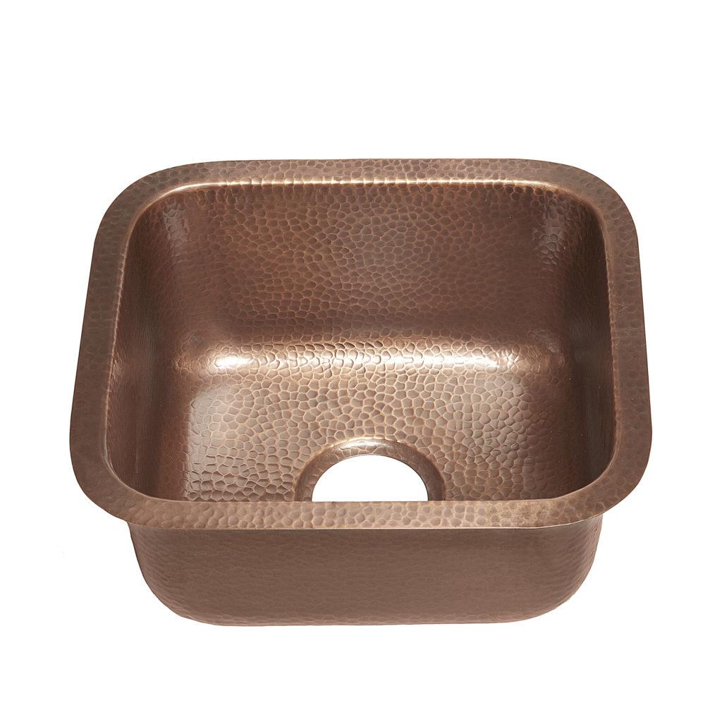 Sisley Copper Bar And Prep Kitchen Sink By Sinkology