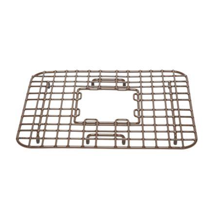 vinyl coated antique brown gehry kitchen sink bottom grid