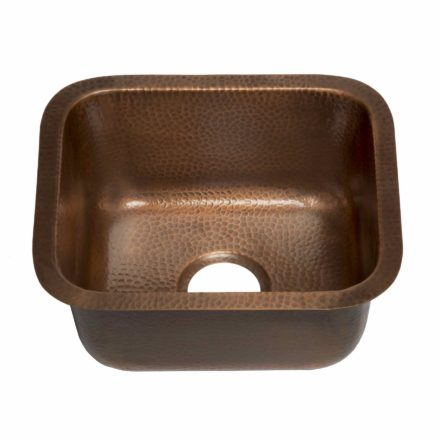 Sisley bar and prep 16-gauge pure solid copper sink