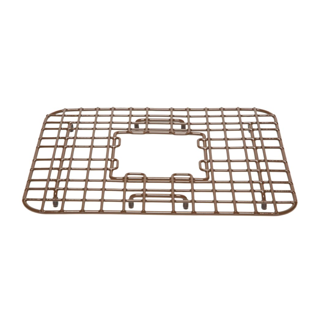 Sullivan Copper Kitchen Sink Bottom Grid by Sinkology