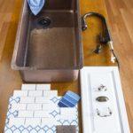 david undermount copper sink with kitchen design elements