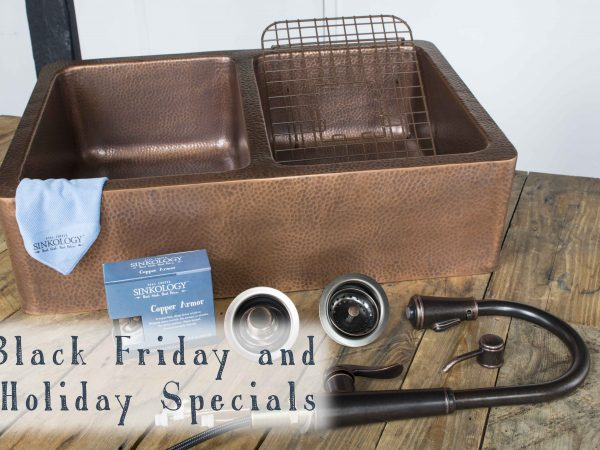 Black Friday and Holiday Sales Preview: Sinkology Copper Sink Design Kits