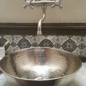 Attrayant The Bohr Nickel Vessel Bathroom Sink: