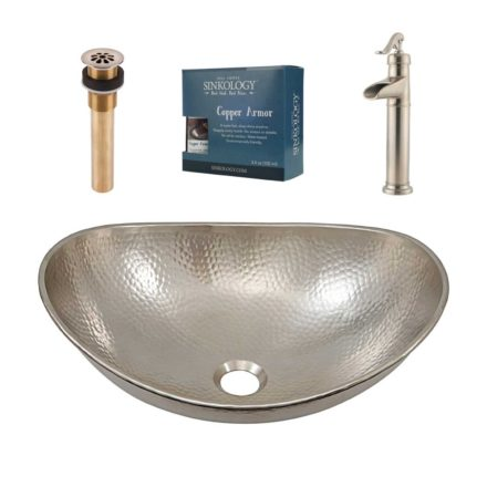 Hobbes All In One Vessel Sink And Ashfield Faucet Kit