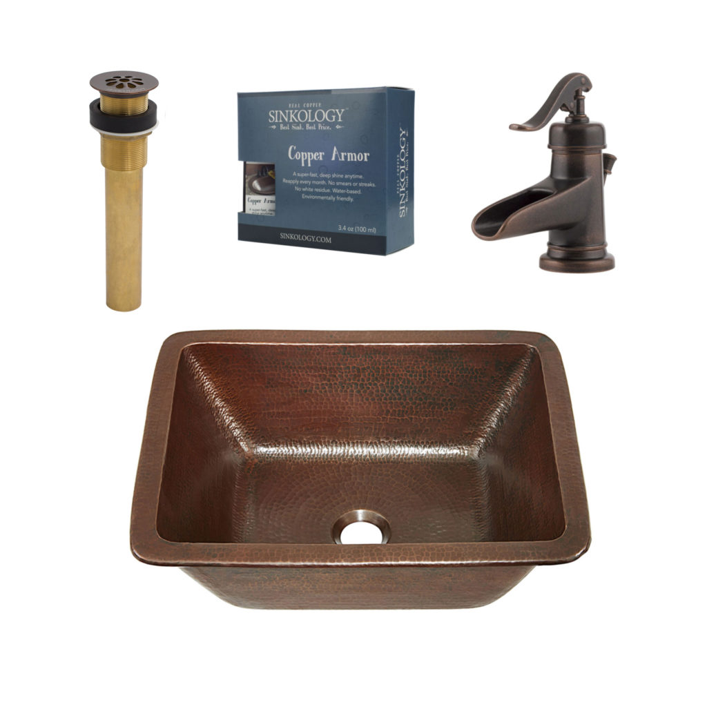 Hawking All In One Undermount Sink And Ashfield Faucet Kit