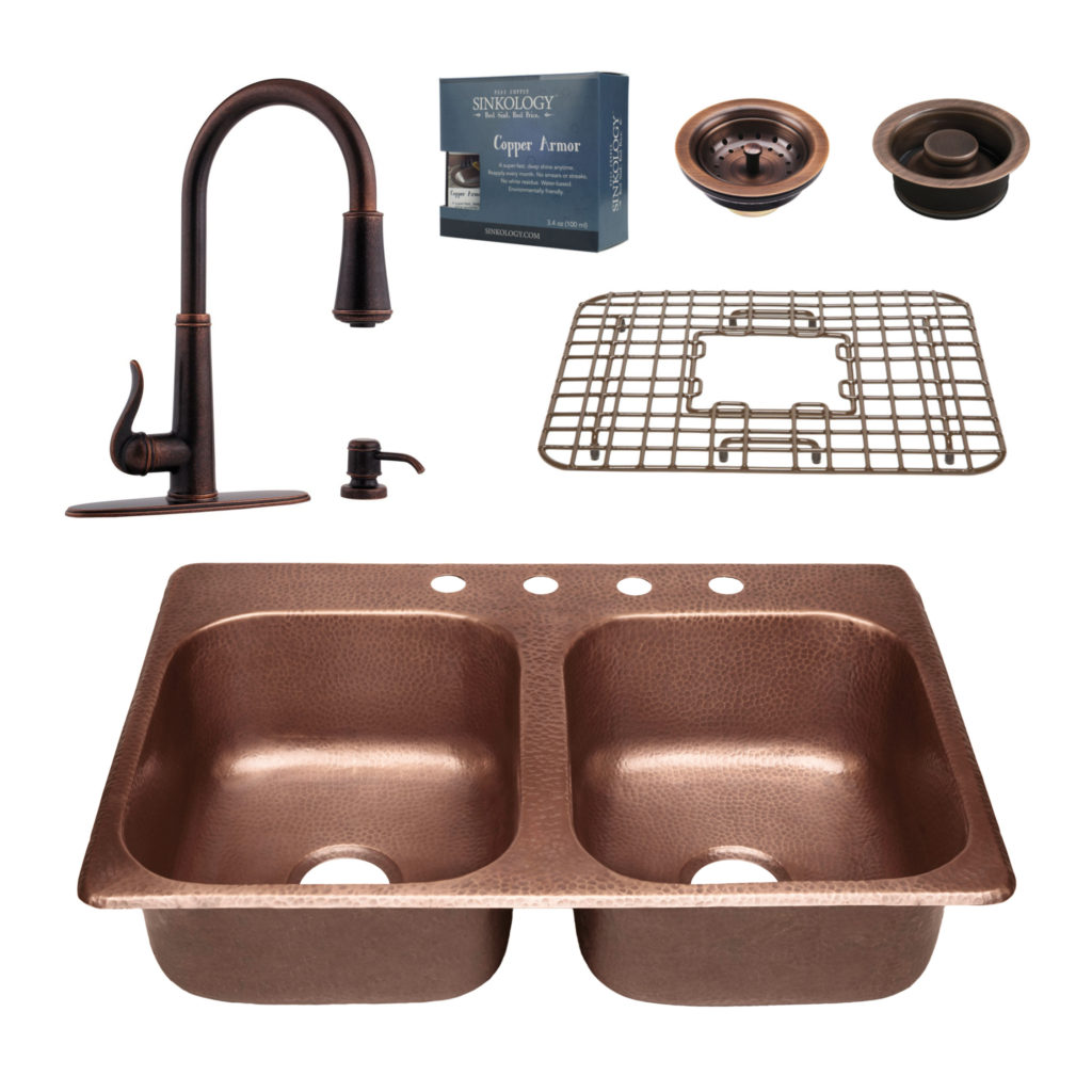 Raphael All In One Drop In Sink And Ashfield Faucet Kit