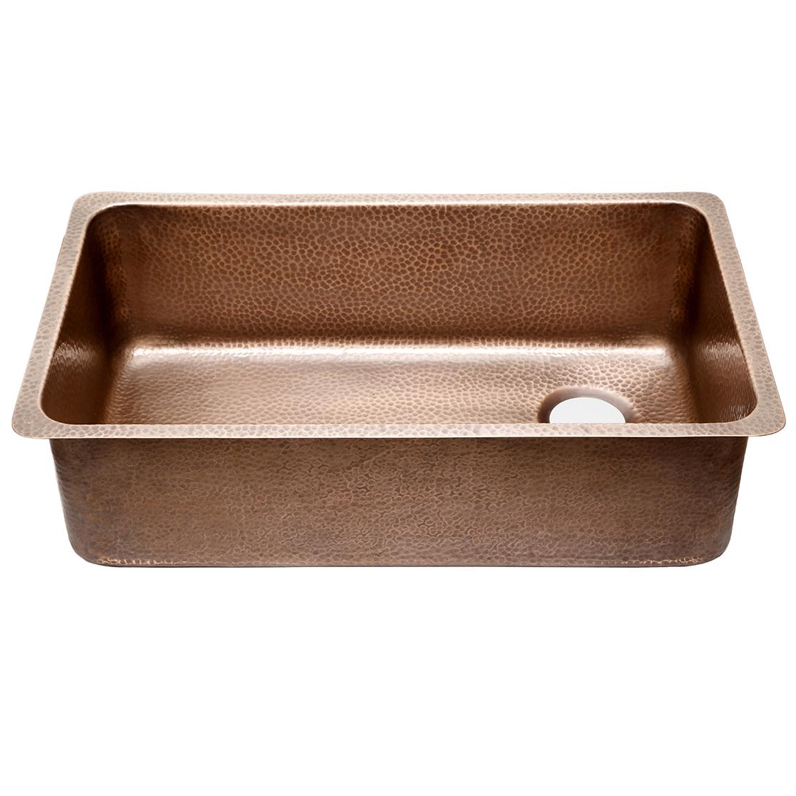 David Chef Series Copper Undermount Kitchen Sink By