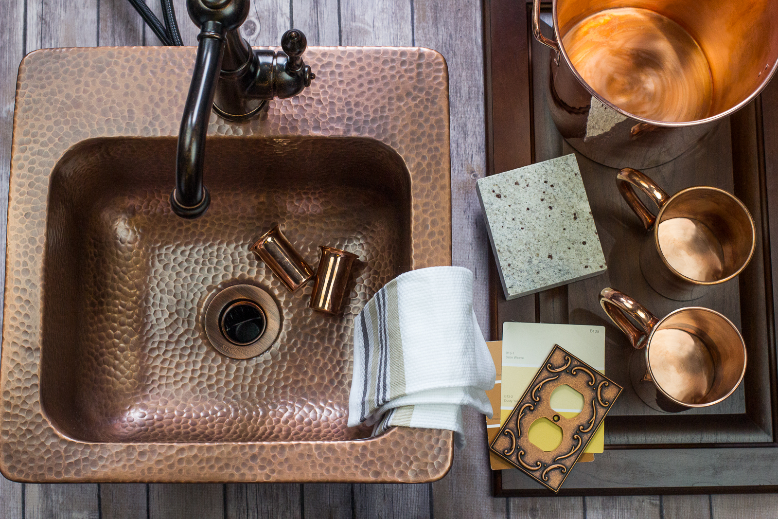 Not Only Is The Copper Material Ideal For This Space, But The Drop In  Design Helps You Keep True To The Craftsman Approach Of DIY. This Copper Bar  Sink Will ...