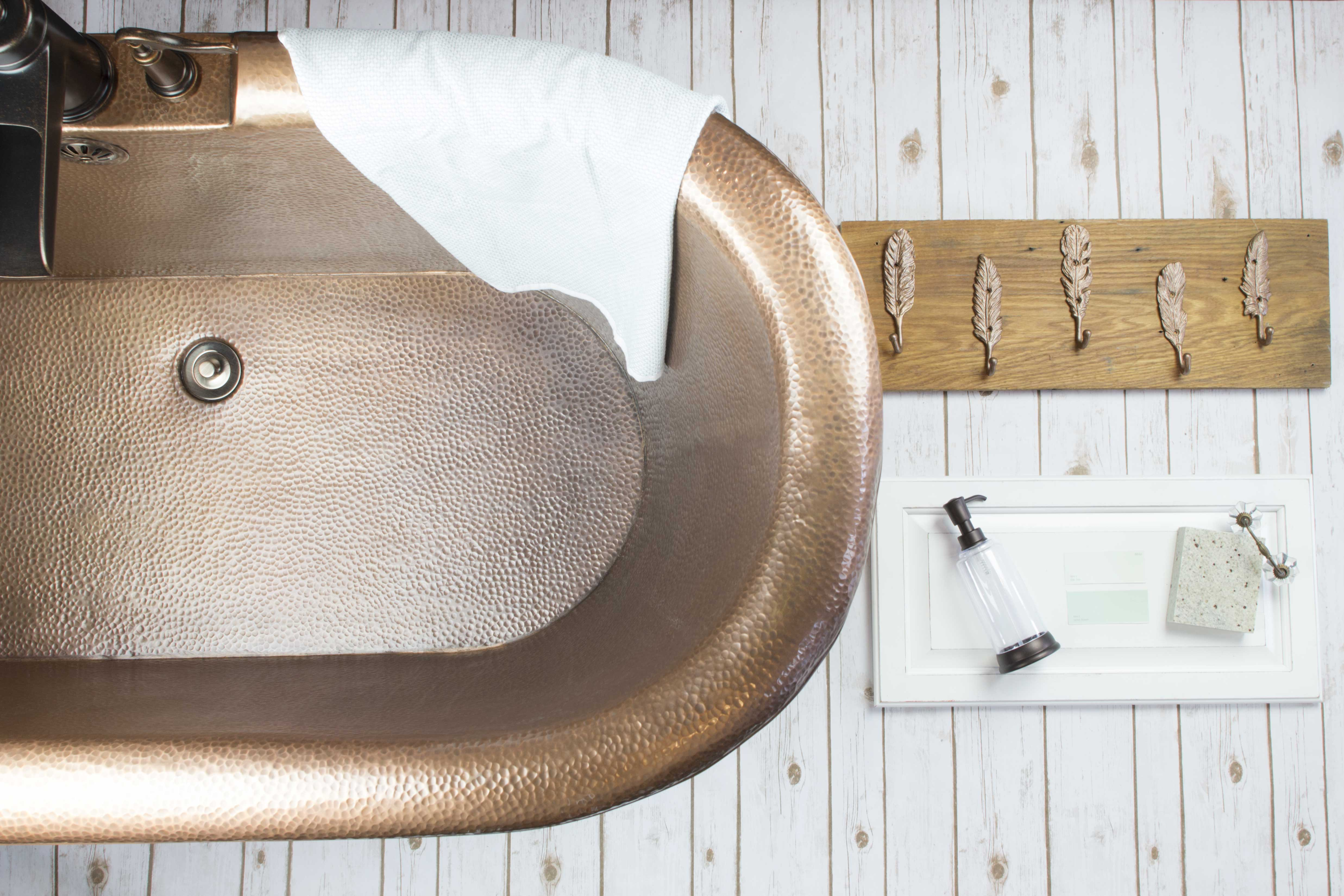 The Thales Copper Bathtub Designing with Copper in Mind Sinkology