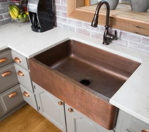copper kitchen drop in sinks by sinkology  rh   sinkology com