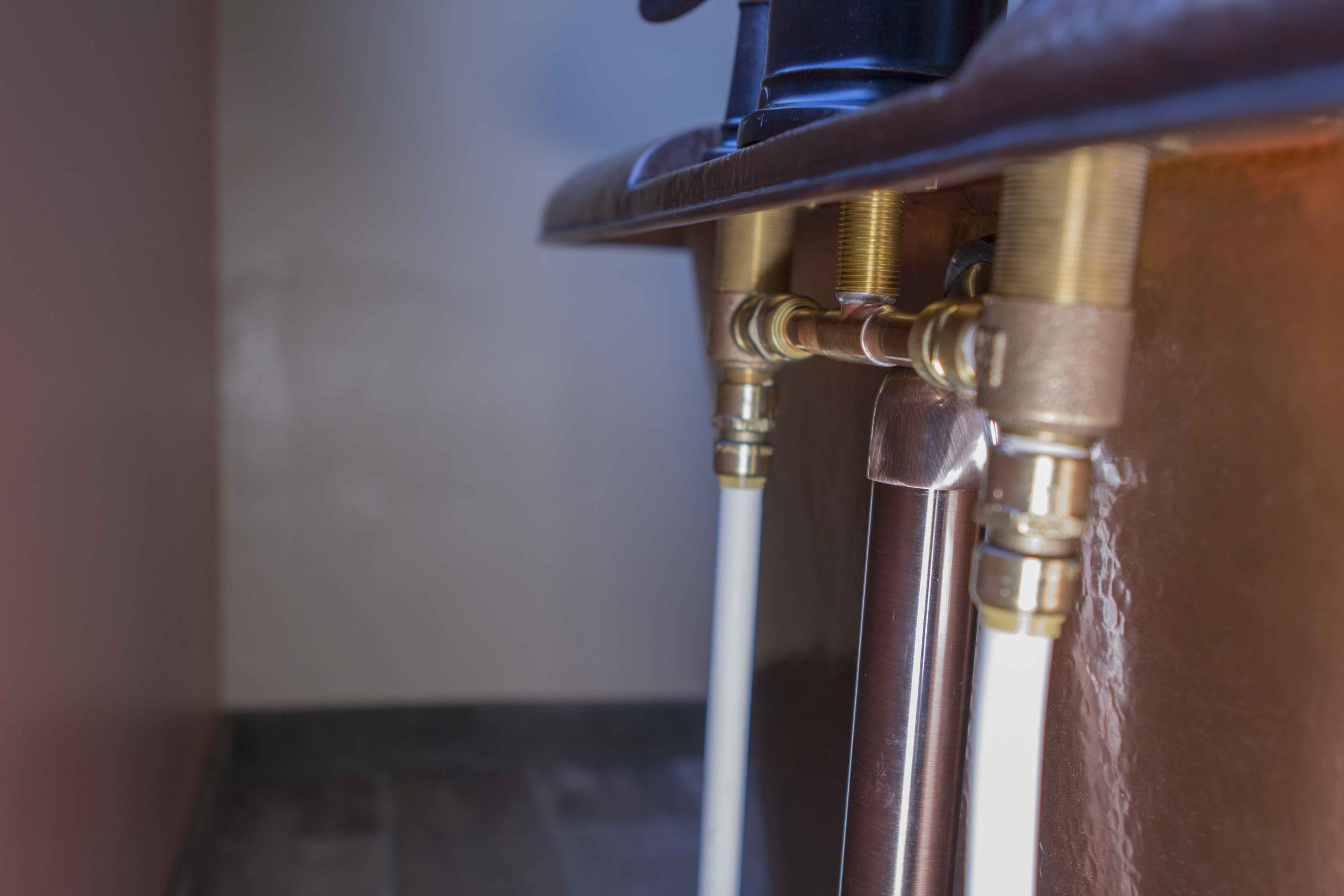 How to Install a Freestanding Bathtub: The Thales Copper