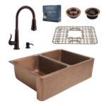 sinkology and pfister farmhouse kit