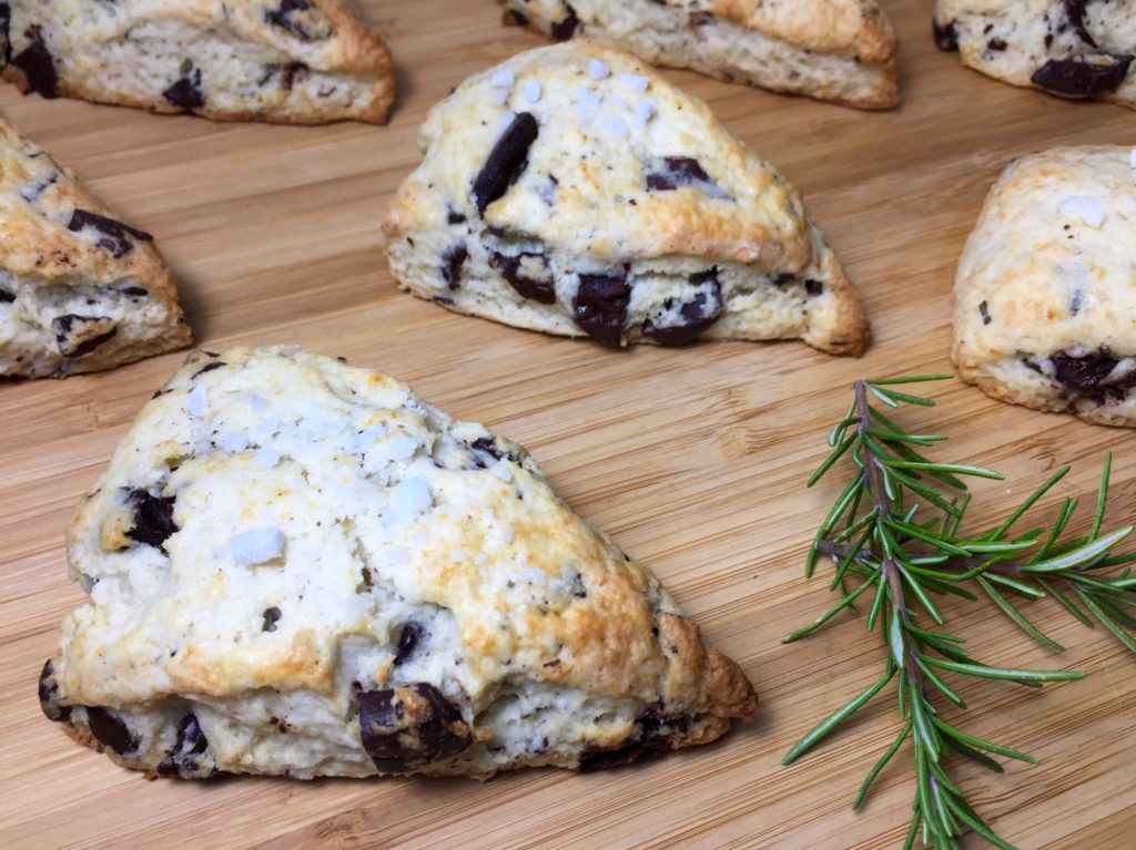Chocolate Rosemary Scones Recipe Sinkology