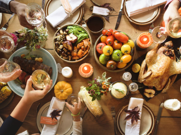 A Thanksgiving Moodboard: A Traditional Family Meal of Thanks