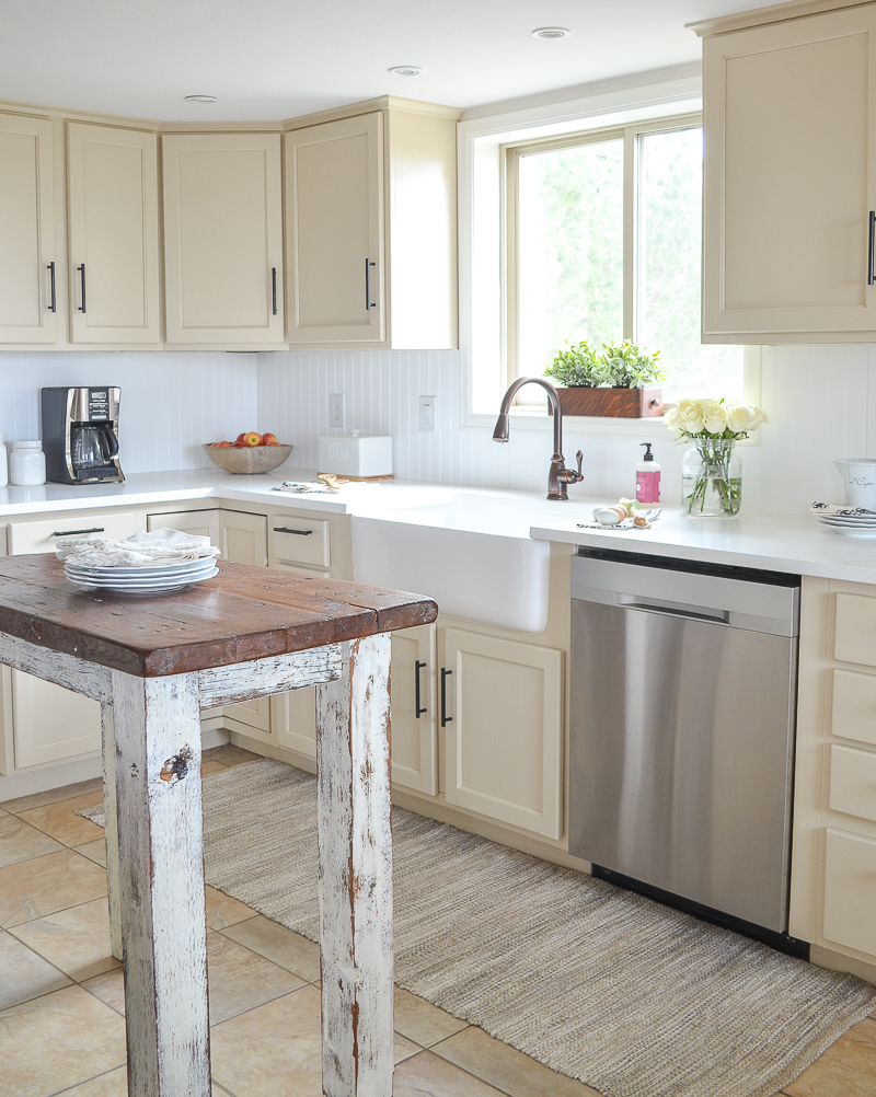 Farmhouse Style Kitchen Makeover Reveal Sinkology