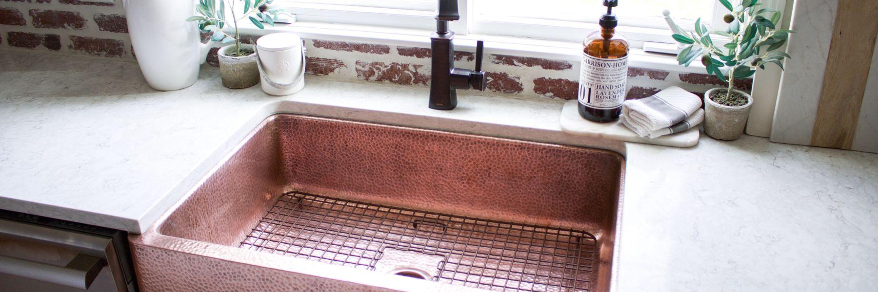farmhouse-copper-sink