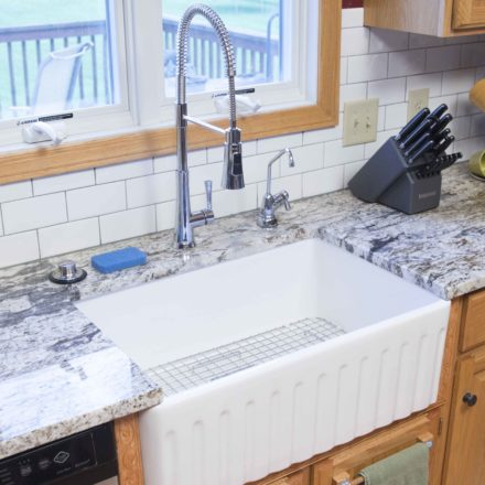 Fireclay-Sink-All-In-One-Kit