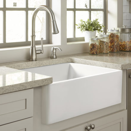 Fireclay Farmhouse Kitchen Sinks - Sinkology