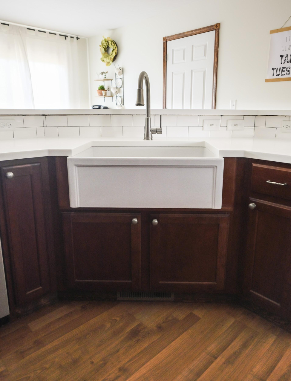 Fireclay Farmhouse Kitchen Sink Installation Guide