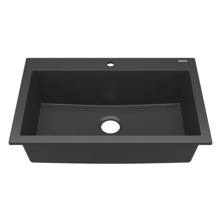 sinkology granite kitchen sink matte black