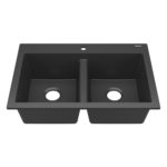 sinkology double bowl granite kitchen sink photo