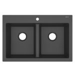 sinkology matte black sink