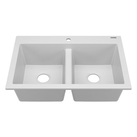 whitney double bowl granite kitchen sink