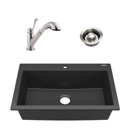 Camille Granite Composite Kitchen Sink - Sinkology