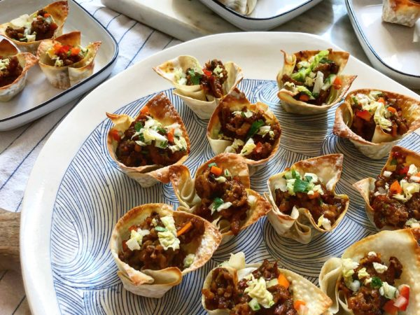 Egg Roll Cups