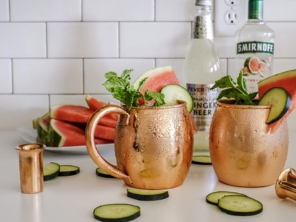 Cucumber Watermelon Moscow Mule Recipe