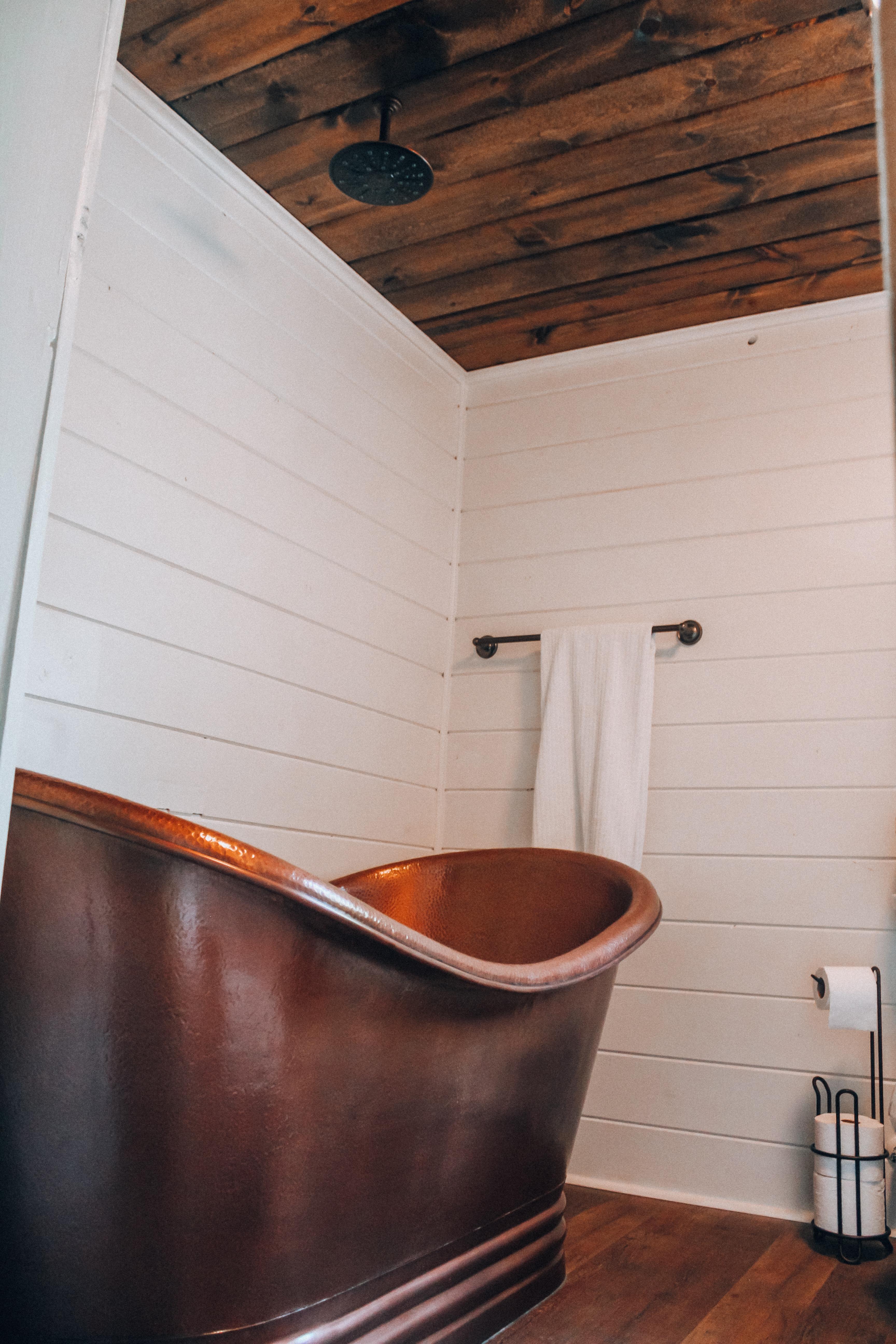 Bathroom Makeover Plank Wall Sinkology