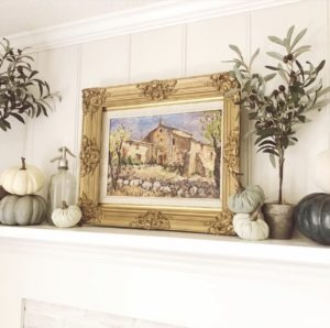 Farmhouse Fireplace Mantle