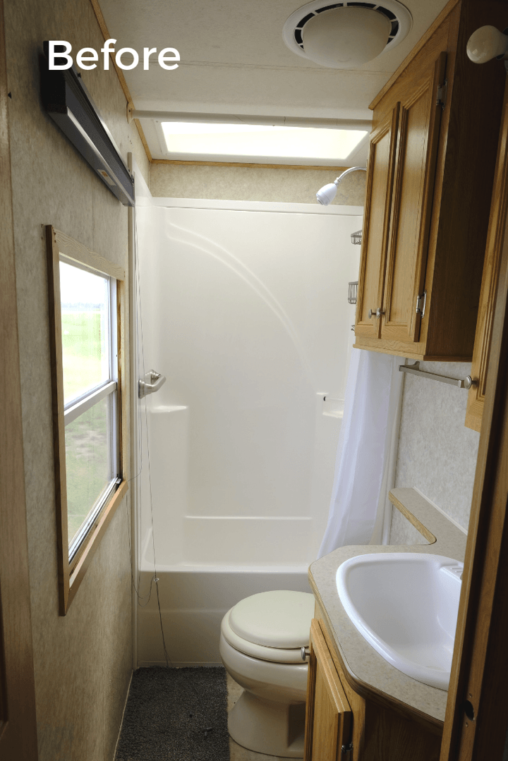 Light & Bright RV Bathroom Remodel REVEAL - Sinkology
