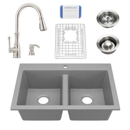 Granite Composite Kitchen Sinks - Sinkology