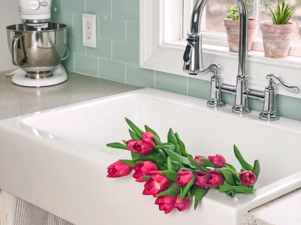 Drop-in Farmhouse Sink Dreams Do Come True With The Josephine.
