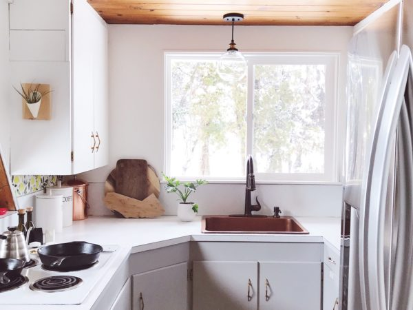 A-frame Kitchen Makeover