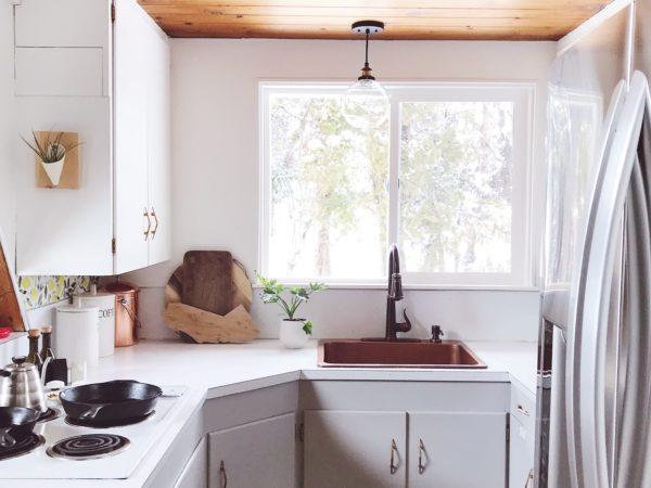 A-frame Kitchen Makeover