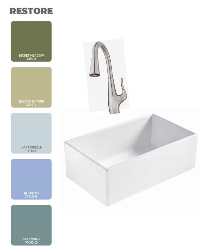 Designed to Inspire: Pairing Sinks with 2020 Color Trends ...